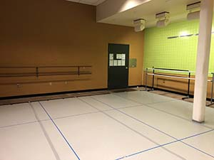Dance kitchen studio