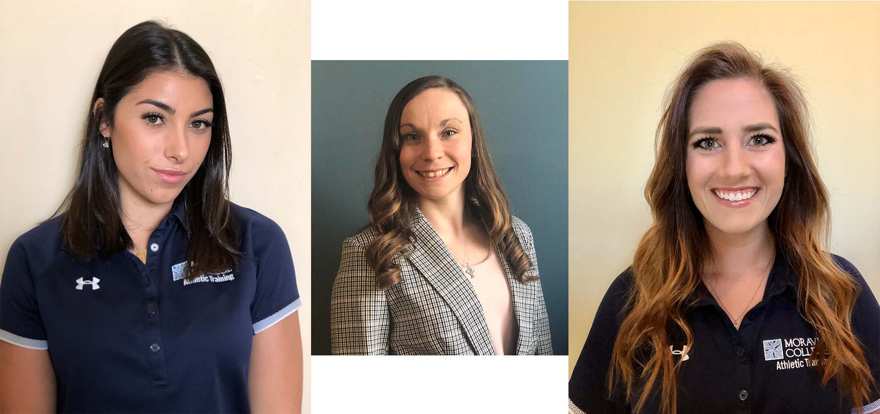 AT students pictured from left to right: Jessie Vallorosi, Kellie Wanamaker, Alexandra Vladyka