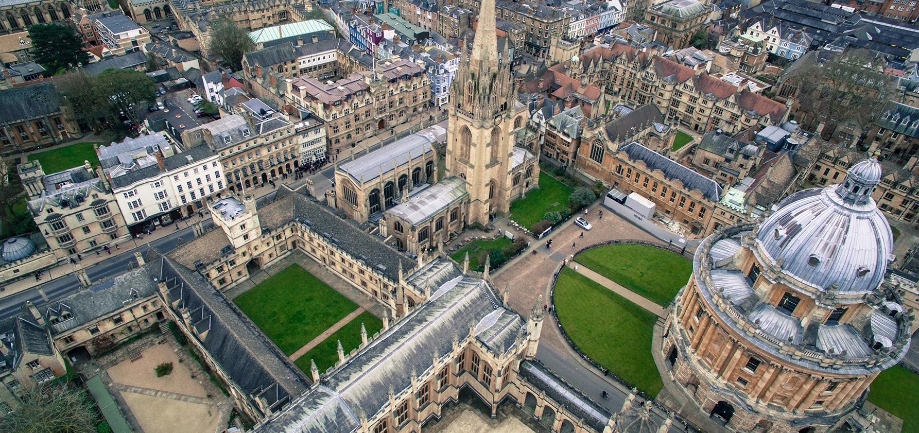 Oxford University campus