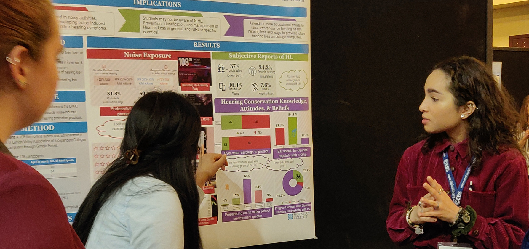 Students present at Speech-Language-Hearing conference